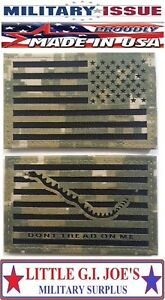 NWU-Type-III-Reverse-US-Flag-amp-First-Navy-Jack-Patch-Set-US-Navy-AOR2-Hook-ISSUE