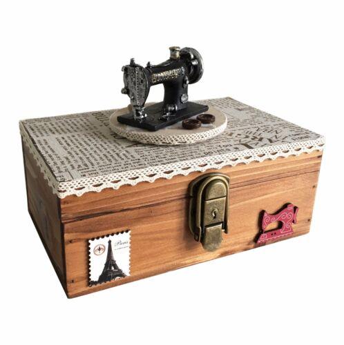 Helen - Wooden Music Storage Box