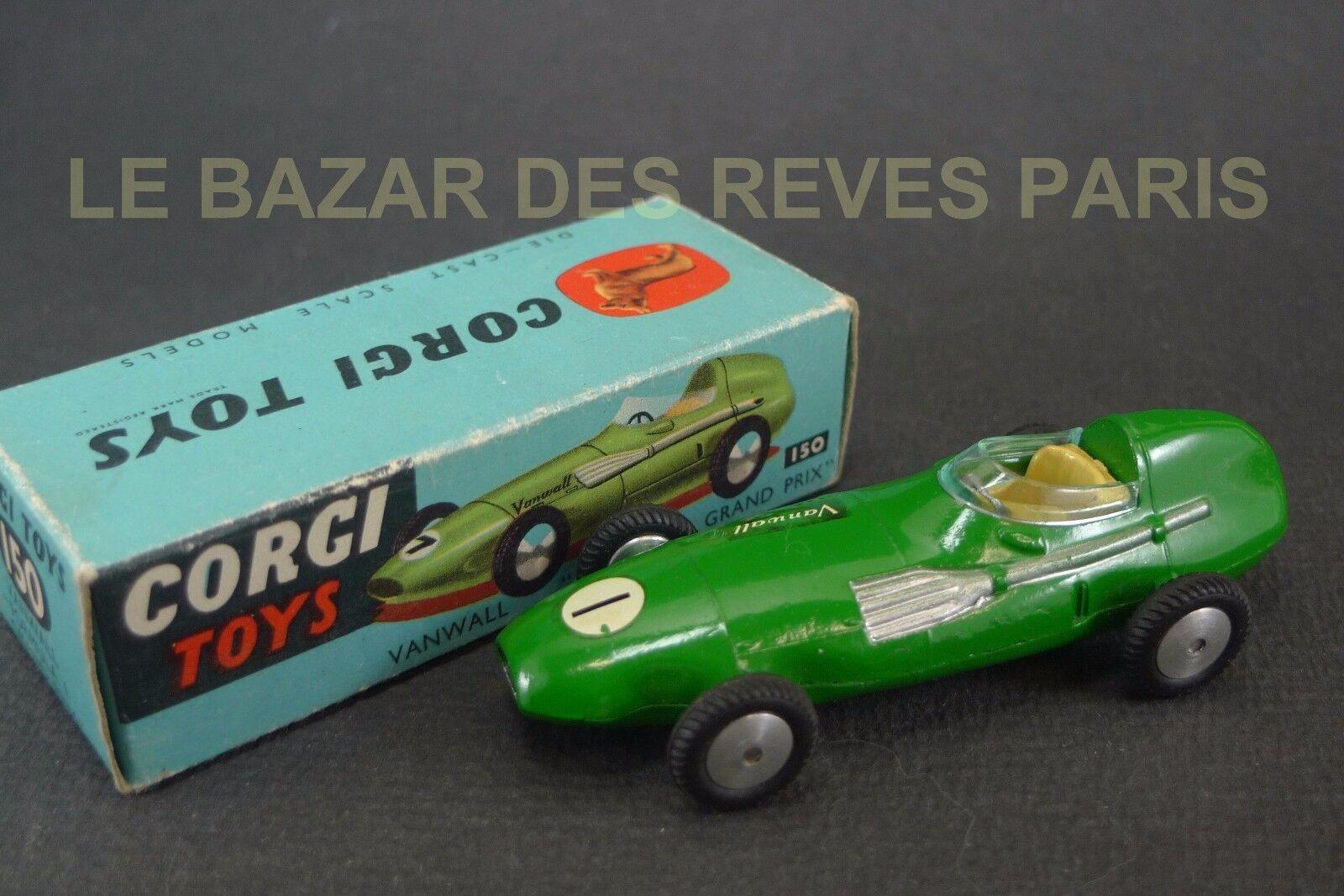 Corgi toys gb. lp  f1 grand prix. ref  150. + box.  meilleure mode