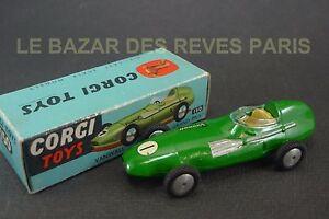 Corgi Toys Gb. Vanwall F1 Grand Prix. Ref: 150. + Boite. J6l8fned-07175616-568218073