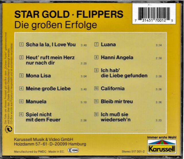 FLIPPERS - Die grossen Erfolge  CD   NEU+UNGESPIELT/MINT!