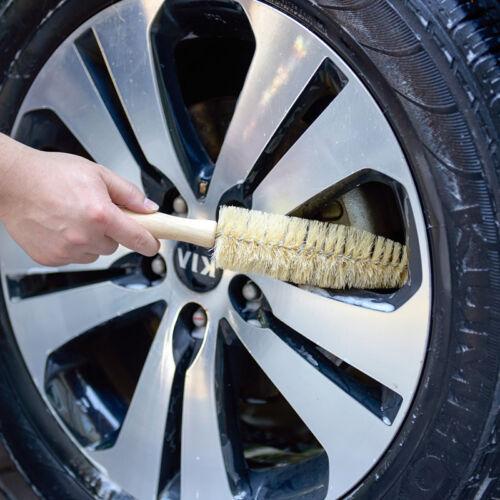 "2 PCS 12/"" Car Rim Wheel Tire Spoke Ferret Brush Medium Soft Durable,"