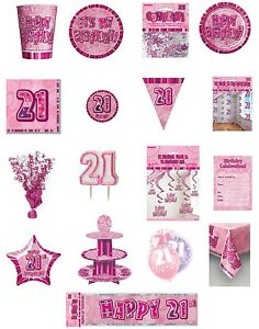 21-21st-Birthday-Pink-Glitz-Party-Range-Party-Plates-Napkins-Banners-Cups