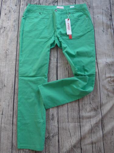 40-58 Grün Ton Kurz Größen NEU Sheego Stretch Jeans Hose Gr 427