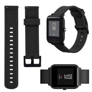 20mm Silikon Ersatz Armband Uhrenarmband Strap For Xiaomi Huami Amazfit Bip Uhr.