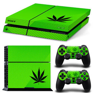 Ps4 Slim Sticker Console Decal Playstation 4 Controller Vinyl Ps4 Skin 420 Skin Video Games & Consoles Video Game Accessories