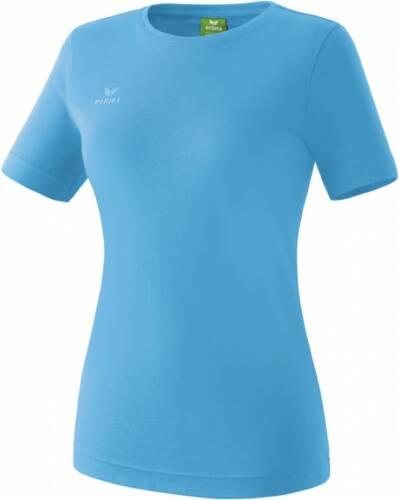 Erima Teamsport T-Shirt curacao blau Damen NEU 50263