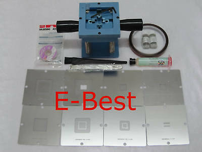 BGA Reball Station For PS3 GPU CPU CXR714120 Stencil Rework Reballing Repair Kts