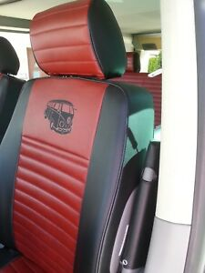 Liners-Seats-Car-Tailored-Asiam-Volkswagen-T5-Leatherette