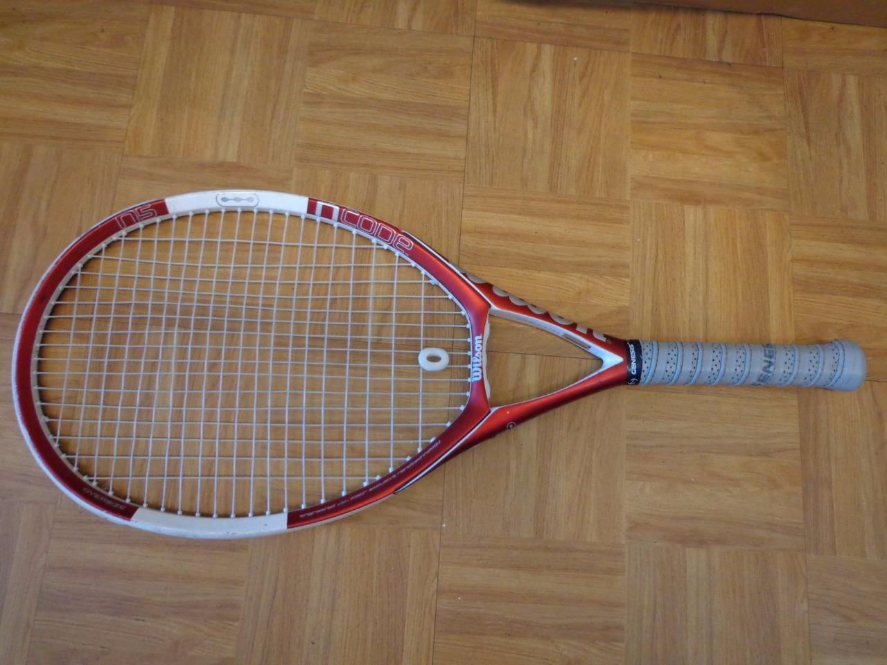 Wilson Ncode N5 Oversize 110 head 4 1 4 grip Tennis Racquet