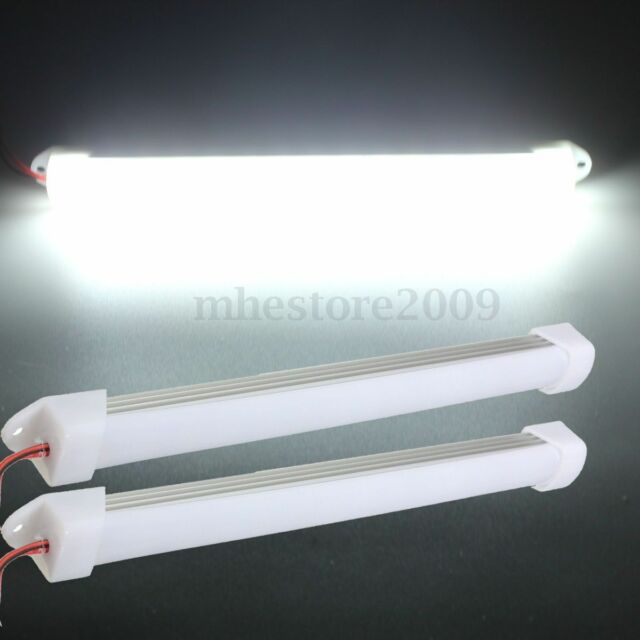 2x 12V Car LED SMD Interior Light Bar Tube Strip Lamp Van Boat Caravan Motorhome