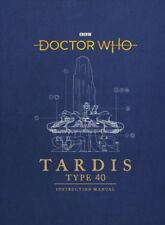 Doctor Who Tardis Type 40 Instruction Manual by Gavin Rymill 9781785943775
