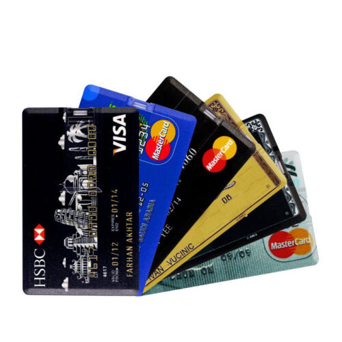 Credit Card USB Flash Drive 4G 8G 16G 32G Pen Drive Creative USB2.0 Memory Stick