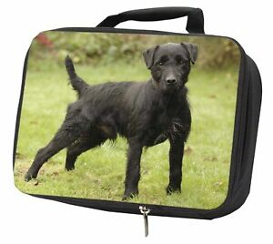 100% De Qualité Fell Terrier Dog Black Insulated School Lunch Box Bag, Ad-ft1lbb