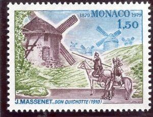 Inquiet Timbre De Monaco N° 1177 ** Salle Garnier / Don Quichotte Avec Des MéThodes Traditionnelles