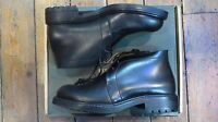 Eddie Bauer Leather Oxford Mens Black Leather Shoes Size 9w N.i.b. Never Worn