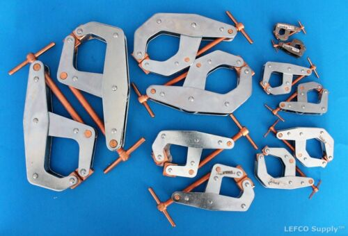 Kant Twist Clamps Lot of 12 NEW USA Made T-Handle 2 X 401 405 407 410 415 420