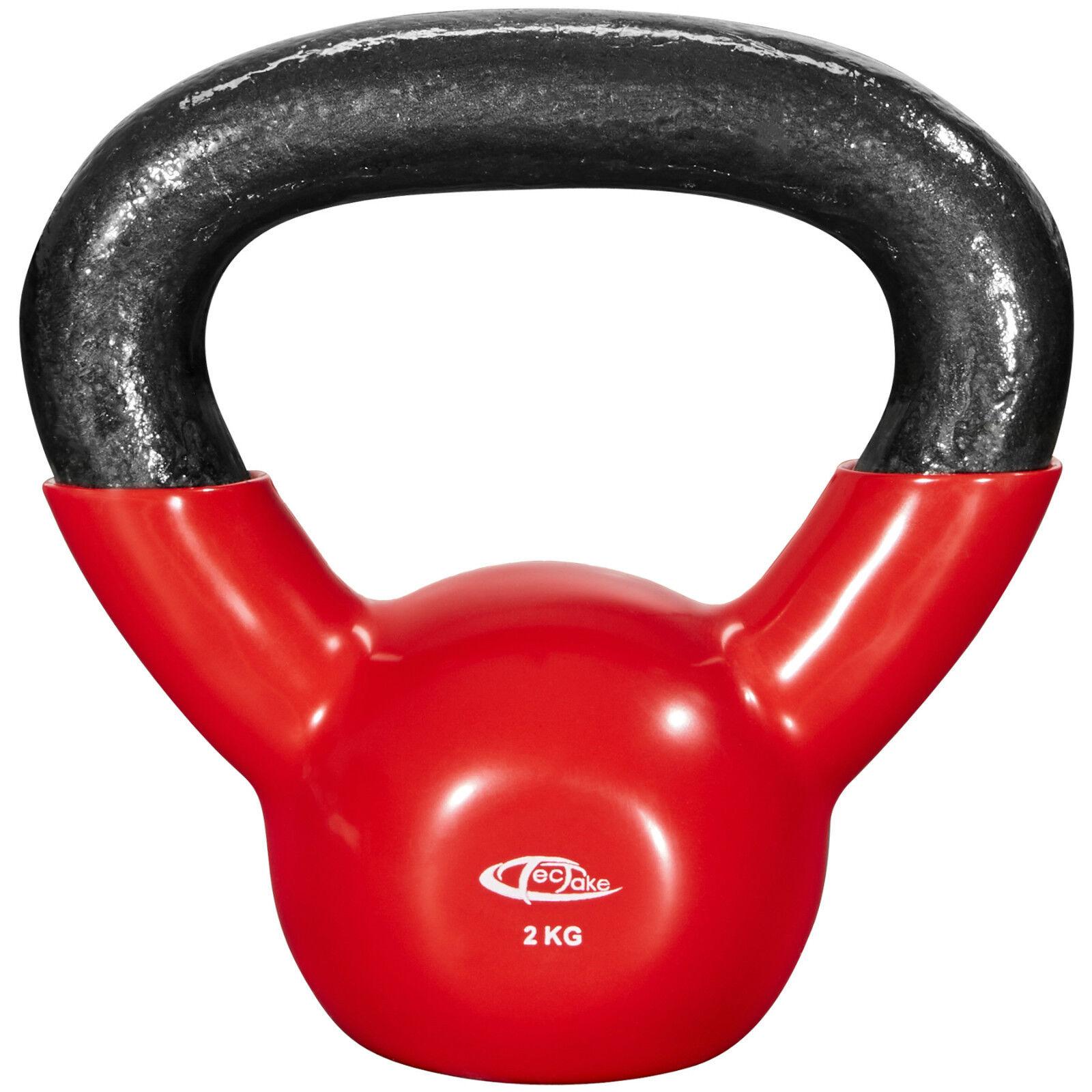 Cast Iron Kettlebell 2kg to 24kg home venyl strength training home 24kg gym fitness 3c715b