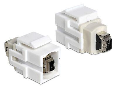 GemäßIgt Delock Keystone Module Firewire 4 Pin Female > Firewire 4 Pin Female Firewire-kabel & -adapter