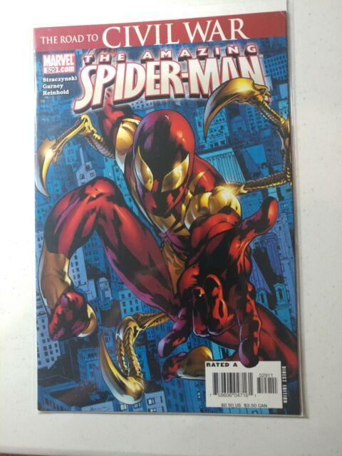 The Amazing Spider-Man 529 Marvel Comics 1st appearance Iron Spider 1st print