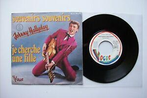 45-tours-Johnny-Hallyday-Souvenirs-souvenirs