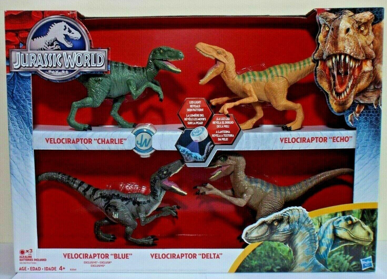Jurassic World Hasbro Velociraptor Raptor Echo 2015