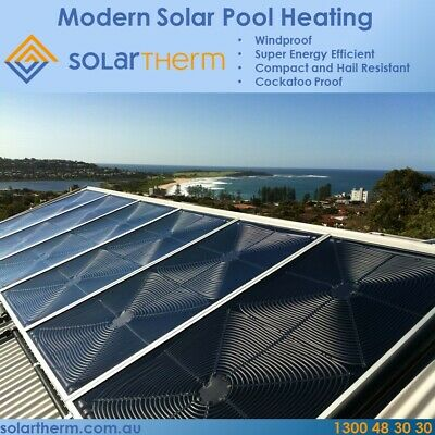 Solartherm Solar Pool Heating System 4 Panel Diy Kit Ebay