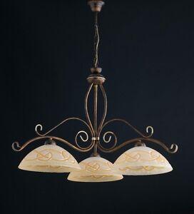 Lampadari Arte Povera Prezzi.Chandelier Suspension Balance Classic Wrought Iron Rustic Arte