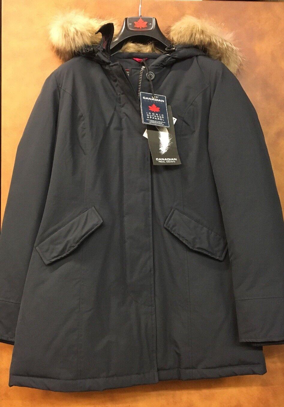 Canadian Classic señora plumón chaqueta  mujer   Navy GR  M L  neu350   sale  bienvenido a elegir