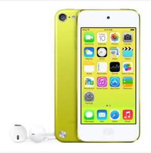 Brand-NEW-Apple-iPod-touch-5th-Generation-Yellow-16-GB-MP3-players-warranty