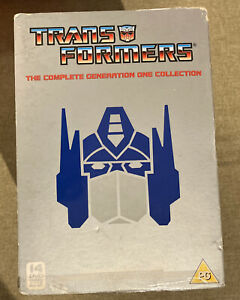 Transformers Complete Generation Boxset (Incl Movie) 14 DVD Excellent