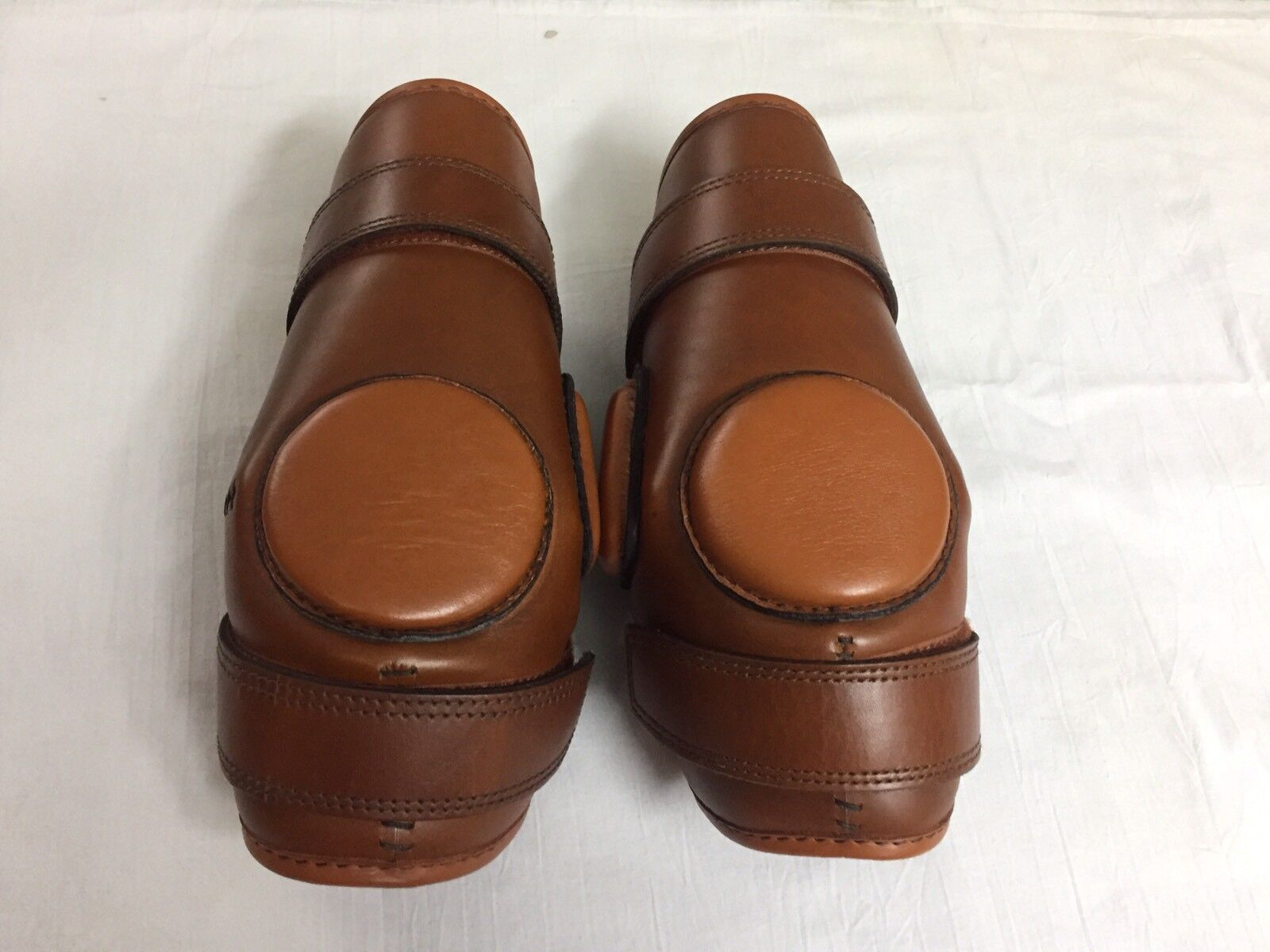 Polo Ridding Knee Guards Leather For Kids-8 To-16 Year Age Ladies Size