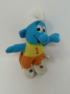 Collectible-Small-Kid-039-s-Smurf-Soft-Toy-Made-In-China