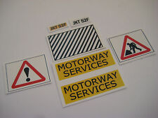 Dinky 417 - Motorway Services Bedford Van Stickers - B2G1F