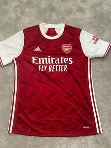 Arsenal Adidas Aeroready Official Home Football Shirt Large 2020-2021 RARE