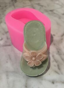 candle Silicone Flip flop mold soap Fast Shipping! candy