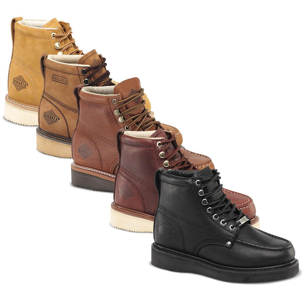 Bonanza Boots 630 Mocc Toe Goodyear Welt Construction 6