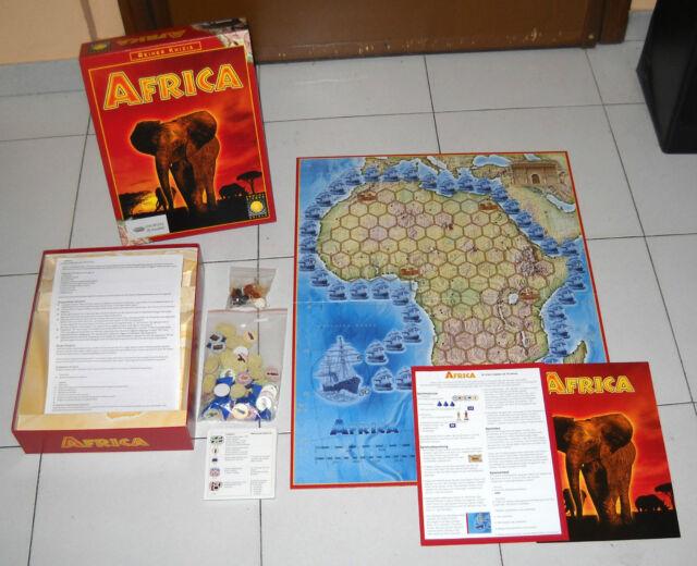 AFRICA – Gold Sieber Nexus 2001 OTTIMO Reiner Knizia Afrika