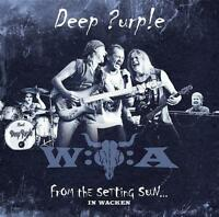 From The Setting Sun...(In Wacken) von Deep Purple (2015), Neu OVP, 2 CD & DVD !