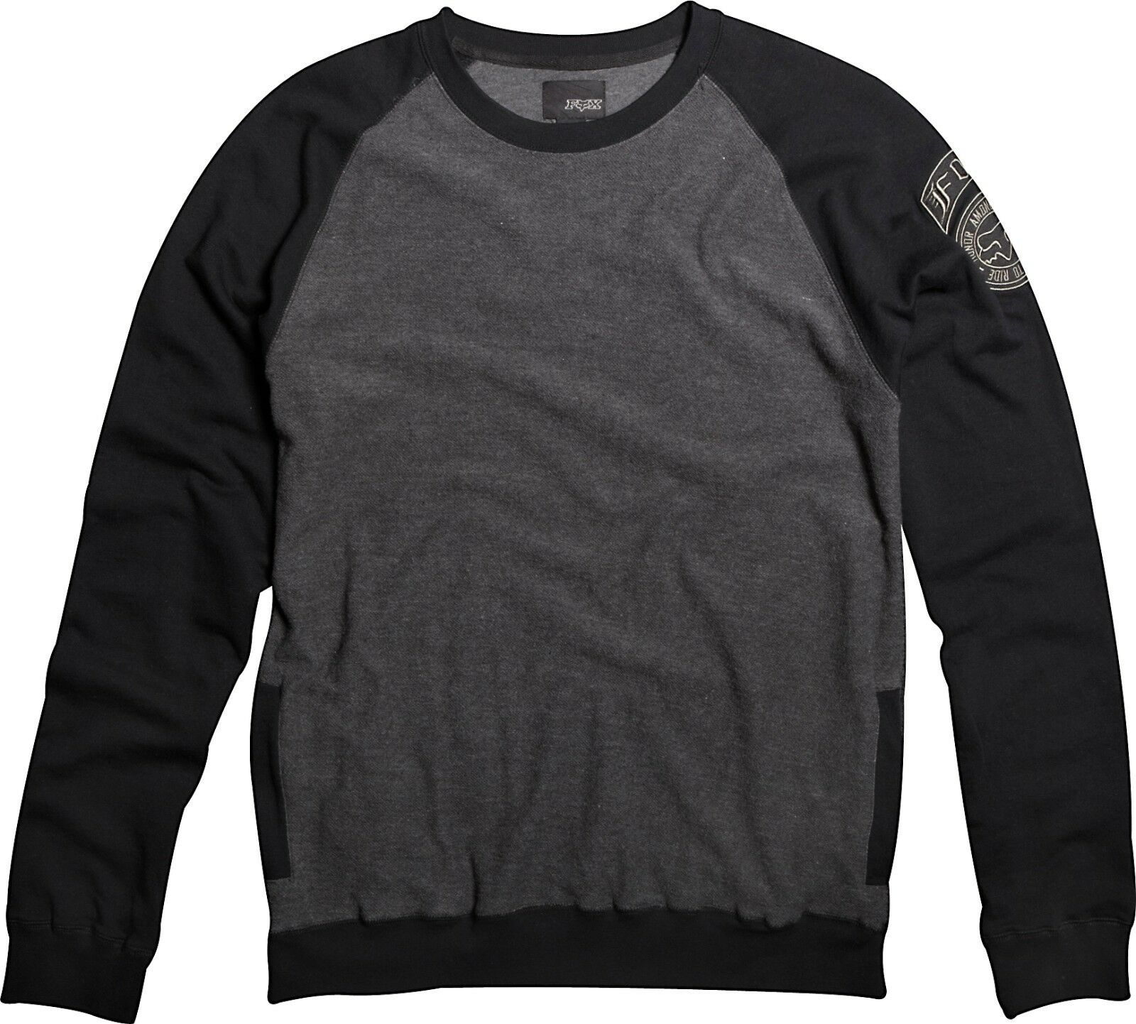 Fox Racing Highland Crew Fleece Charcoal Heather, Large