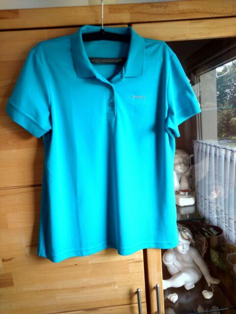 Icepeak Damen Wander-Freizeit-Polohemd Poloshirt Kassidy türkis-blau