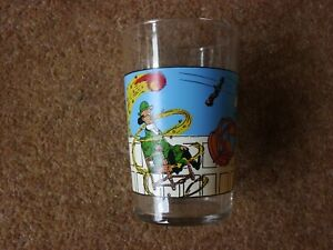 Lovely-Tintin-Glass-The-Calculus-Affair-Amora-1974-rare
