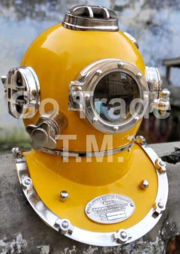 US Navy Vintage Dive Helmet Mark V Antique Diving Divers Helmet Christmas gift