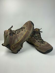 9961a6ae56b Details about Nevados Kids Youth Size 7 Mid Hiking Boots Unisex Cire Brown  Lace Up