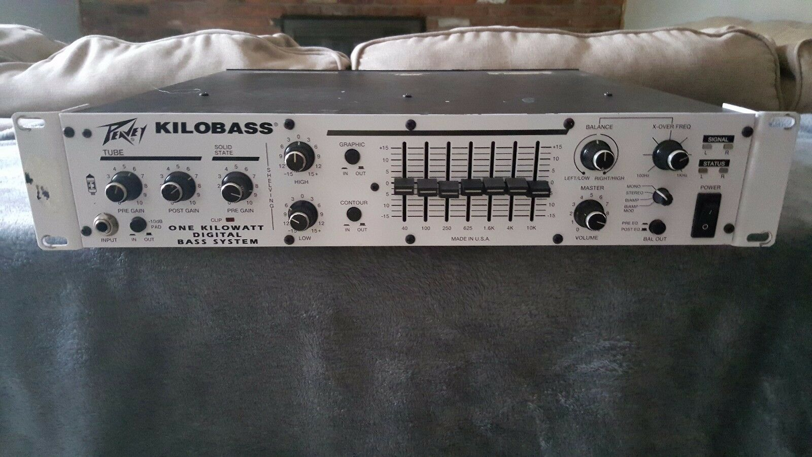 Peavey Kilobass 1000W Bass Amplifier Head