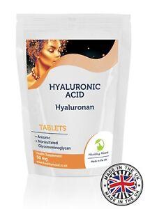 Hyaluronic-Acid-50mg-Hyaluronan-Beauty-250-Tablets-Pills-Supplements