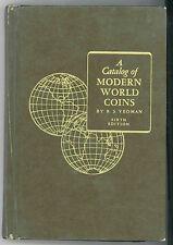 * Yeoman, A Catalog of Modern World Coins, 6e édition, 1964