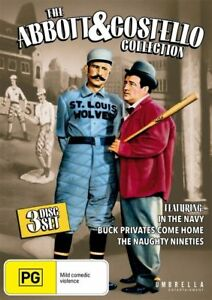 Abbott-amp-Costello-Collection-DVD-3-Disc-Set-NEW-SEALED-All-Regions