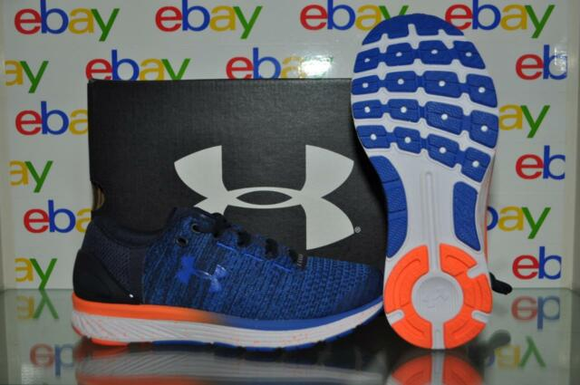 timeless design 0a278 b918a Under Armour BGS Charged Bandit 3 Boys Size 6 Blue/orange SNEAKERS Shoes  Xk-1571