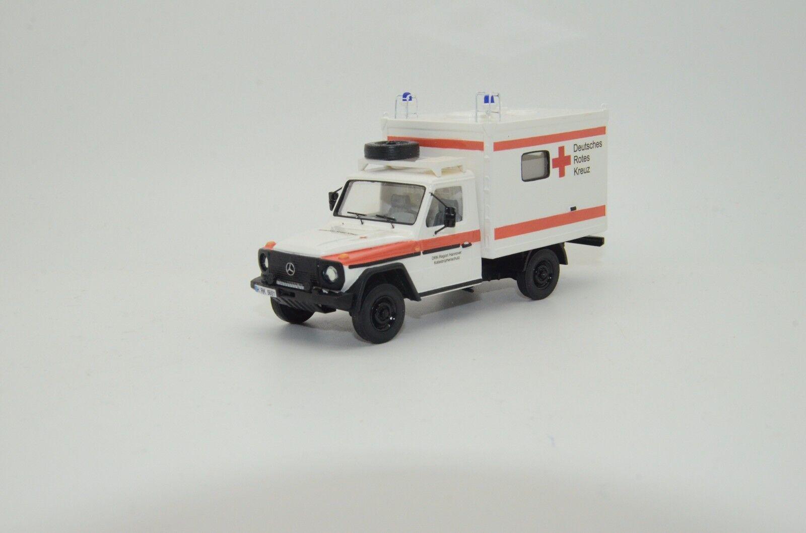 RARE  Mercedes G Class W461 ZEPPELIN DRK ambulance Vector Modèles fait à la main 1 43